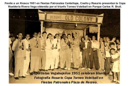 COPA MUEBLERIA RIVERA VEGA EN 1951