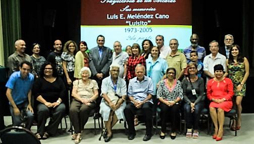 Jose Luis Maldonado Quirindongo Investigadores con Luis su esposa Monica y otros