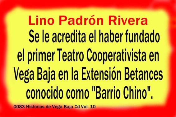 Lino Padrón Rivera 0083 Funda Teatro Cooperativista Extención Betances