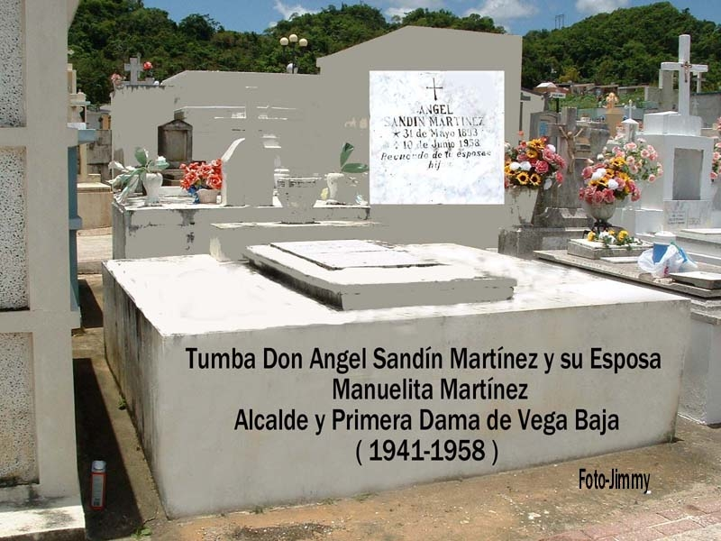 ASM61 Angel Sandín Martínez Tumba e lDon Angel y Esposa Manuelita