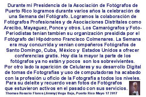 TJRF HISTORIA DE LOS FOTOGRAFOS DE PR