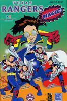 Texas Rangers Magic comic book, July 2, 2001