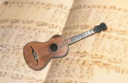guitarra de Noche de Paz