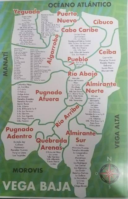 MAPAN DE COMUNIDADES VB