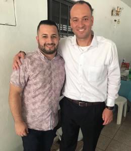 ANGEL ABDIEL RODRIGUEZ CON EDGAR SANTANA