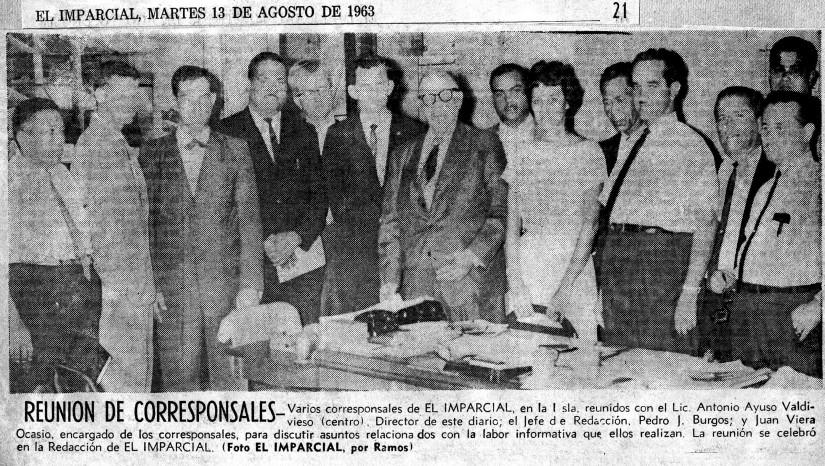 El Imparcial 1963 Redacción 21