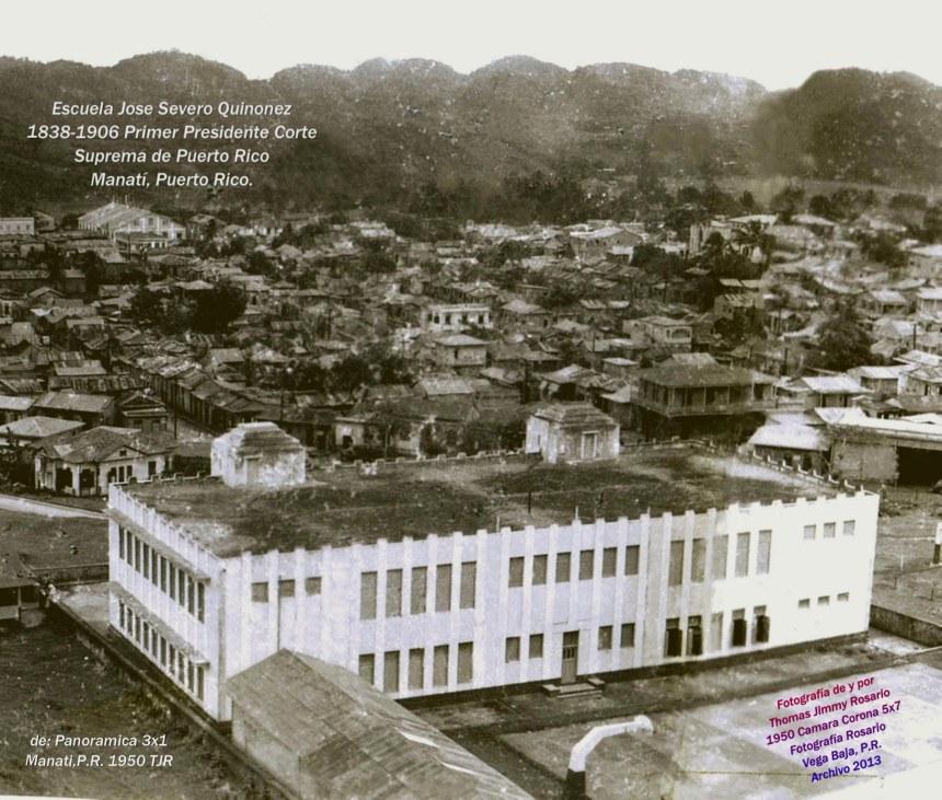 EscuelaQuinonez Manati 1950 por TJR
