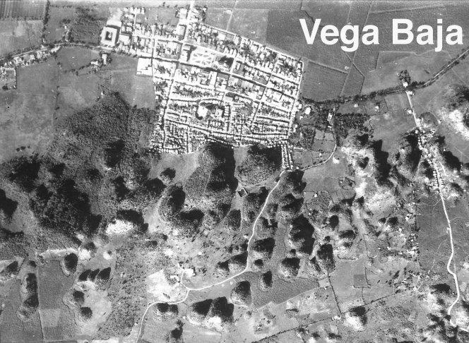 Vega Baja foto aerea de 1930