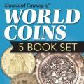 WORLD COINS 5 BOOK SET