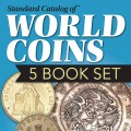 WORLD COINS 5 BOOK SET