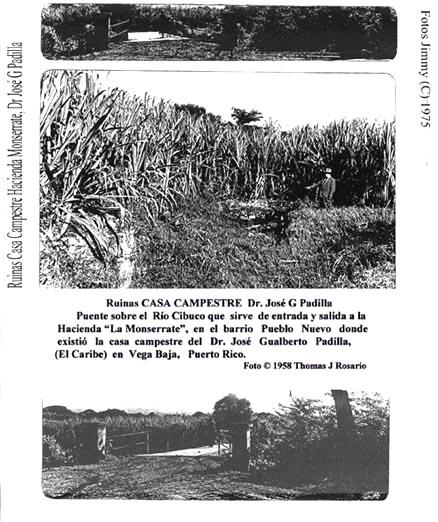056-0 Casa Camp Dr José G Padilla (Ruinas Hacienda Monserrate) 1950