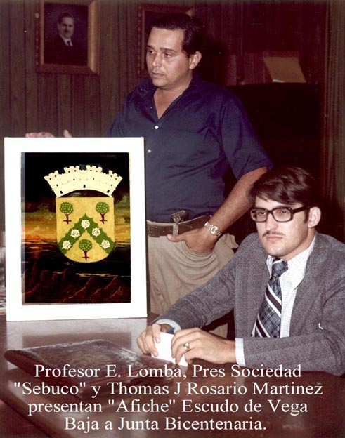 093-0 Pres Sociedad Sebuco y Thomas Jr presentan afiche Escudo VB