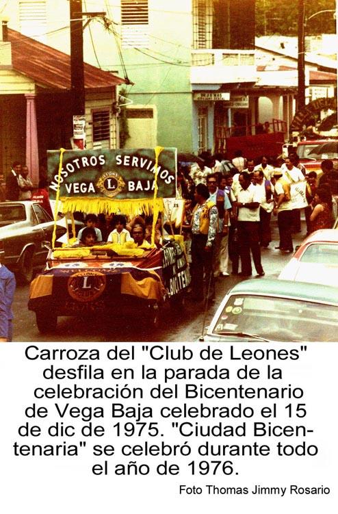 128-0 Carroza Club Leones Parada Bicentenario