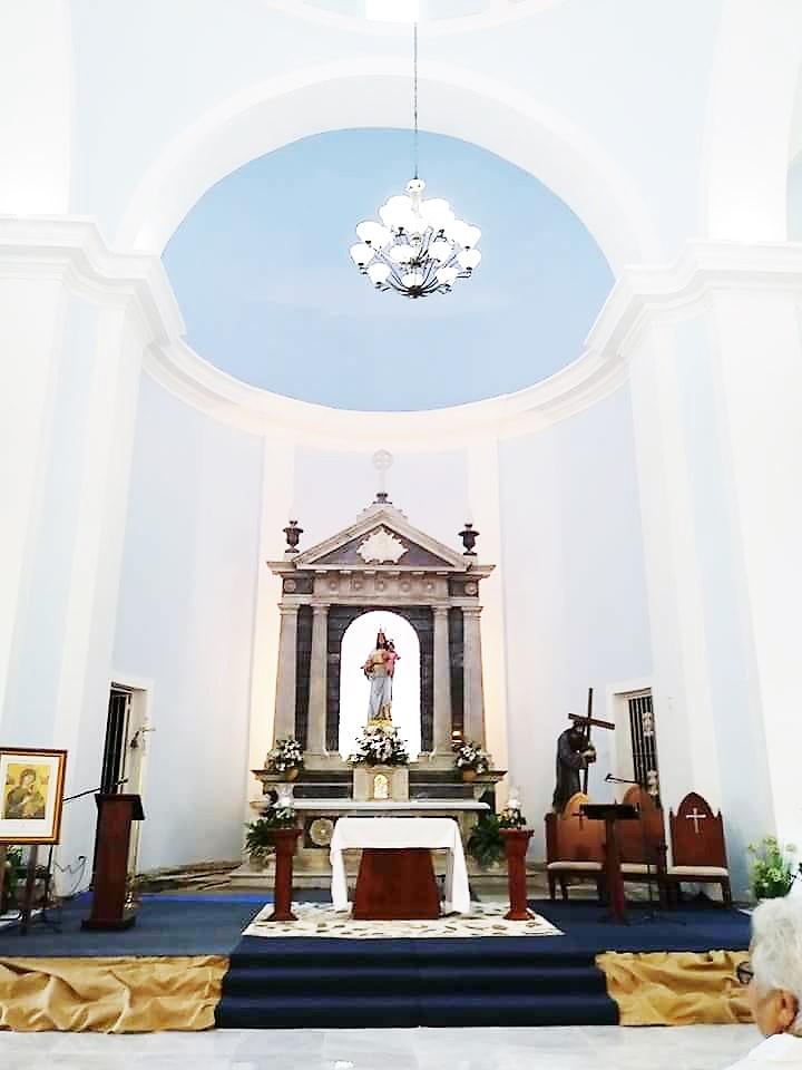 ALTAR NUESTRA SENORA DEL ROSARIO POR FELICIANO HERNANDEZ