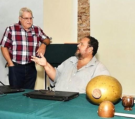 EHV CONFERENCIA DE CARLOS AYES SOBRE CAMPESINADO FOTO TONY MUNIZ