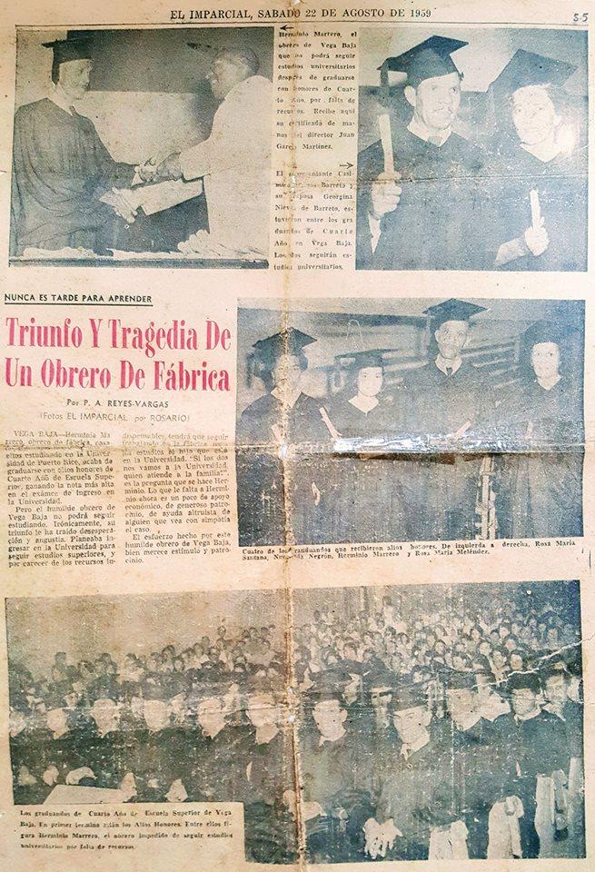 HERMINIO MARRERO EL IMPARCIAL 1959 NUNCA ES TARDE PARA APRENDER.jpg