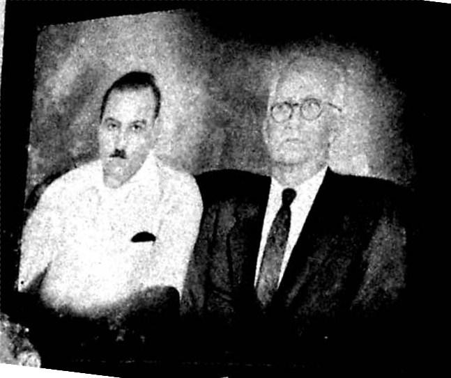 Cuadro Muñoz y Don Angel 1940-50 Municipio