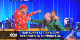 DON FRANCISO LE TIRA A BAD BUNNY
