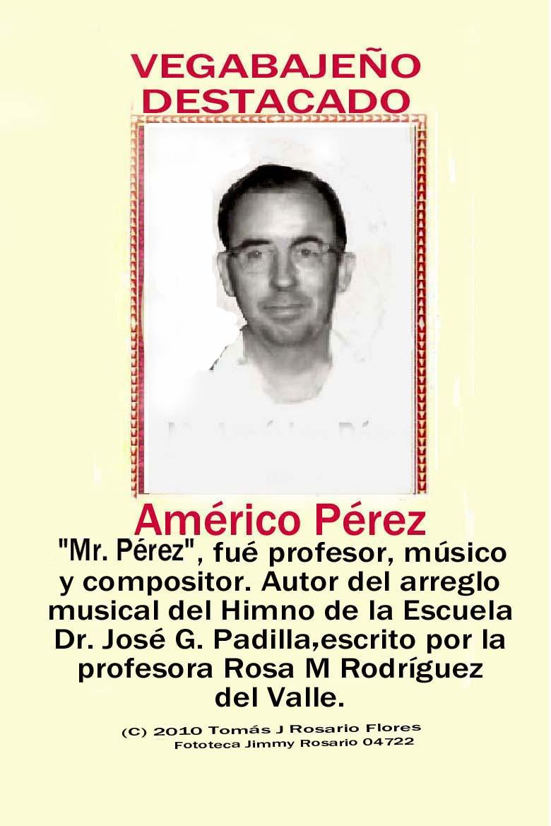 Américo Pérez Musico
