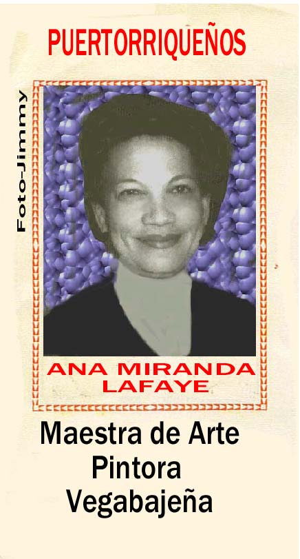 Ana Miranda Lafaye Maestra Arte