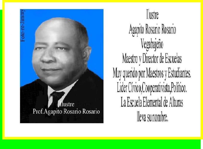 Tablero Agapito Rosario Rosario