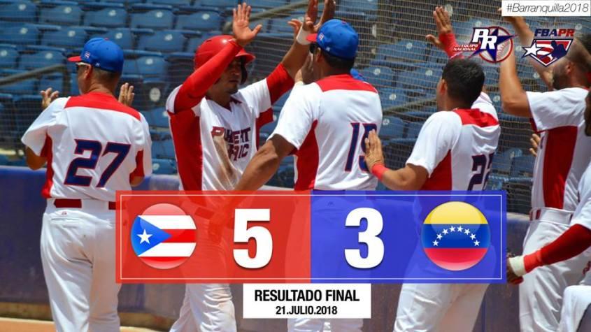primer juego pr v venezuela