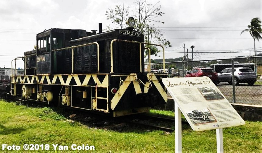 YAN COLON ROTULANDO EL TREN