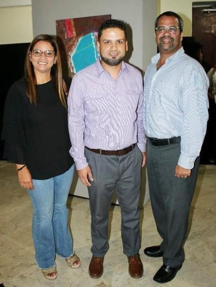 Con el alcalde Marcos Cruz y su esposa Ginny