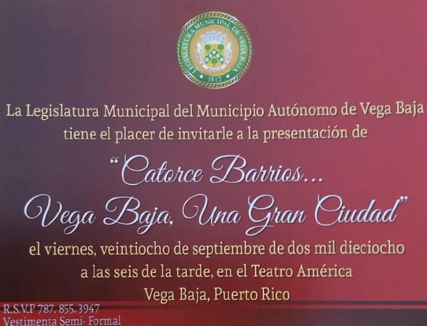 INVITACION A CATORCE BARRIOS