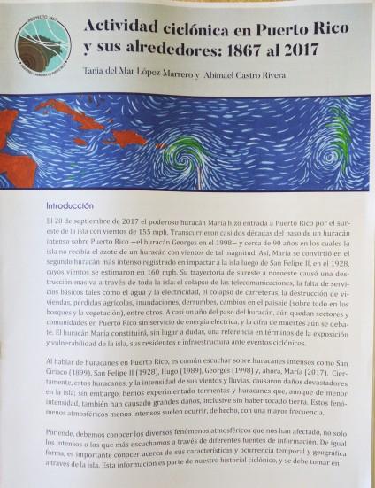ECTIVIDAD CICLONICA DE PR 1867 A 2017 ABIMAEL CASTRO RIVERA