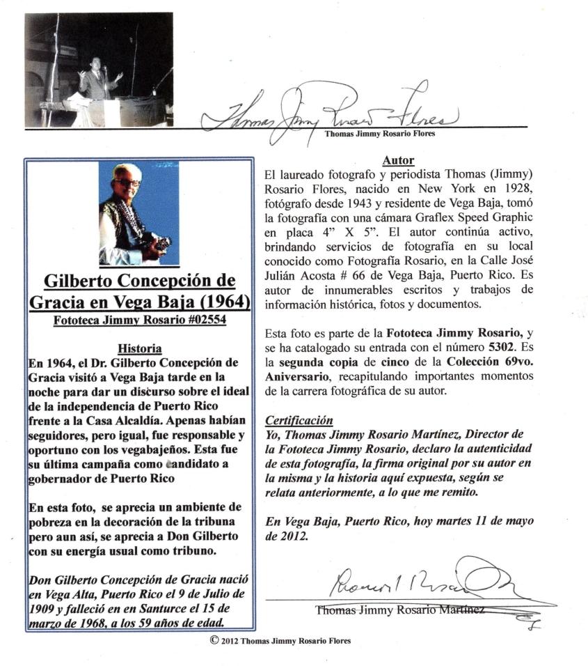 GILBERTO CONCEPCION DE GRACIA EDICION EXPLICANDO RETRATO ICONICO