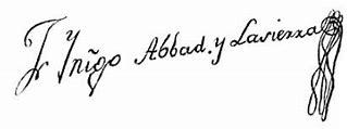 FRAY INIGO ABBAND Y LA SIERRA